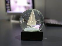 decorazione luccicante del globo Immagine Stock