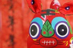 Decorazione lunare cinese di nuovo anno. Fotografie Stock