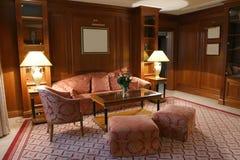 Decorazione lussuosa della camera da letto Fotografie Stock Libere da Diritti