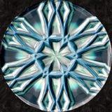 Decorazione magica astratta della palla della sfera della mandala illustrazione di stock
