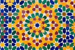 Decorazione marocchina Fotografia Stock Libera da Diritti