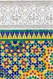 Decorazione marocchina Fotografia Stock