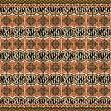 Decorazione moderna di motivo del batik Illustrazione Vettoriale
