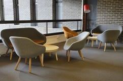 Decorazione moderna interna della mobilia Fotografie Stock Libere da Diritti