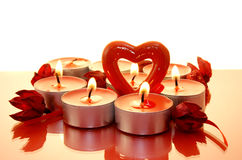 Decorazione; natale; candela; celebrazione Fotografie Stock Libere da Diritti