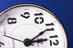 Decorazione-orologio del nuovo anno e di Natale Fotografia Stock Libera da Diritti