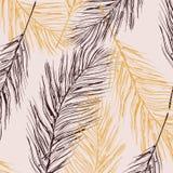 Decorazione pastello della piuma di vettore Elementi della pelliccia degli uccelli Struttura domestica di lusso elegante, decoraz illustrazione vettoriale