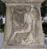 Decorazione religiosa di marmo di angolo Immagine Stock Libera da Diritti