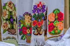 Decorazione rumena rustica fotografia stock