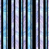 Decorazione a strisce senza cuciture strutturata con handdrawing della matita di colore adatto ad imballaggio del contesto del fo illustrazione di stock
