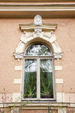 Decorazione su una costruzione storica Fotografia Stock