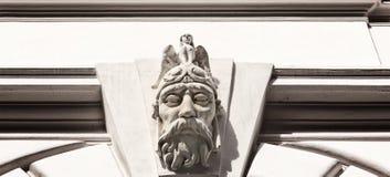 Decorazione sul palazzo reale Immagine Stock Libera da Diritti
