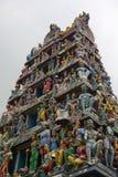 Decorazione sul tempio indù Fotografia Stock Libera da Diritti