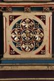 Decorazione sull'altare dei san Stephen, Ladislaus e Emeric nella cattedrale di Zagabria Immagini Stock Libere da Diritti