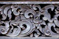 Decorazione tailandese antica della parete di stile Immagini Stock