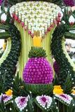 Decorazione tailandese di struttura del fiore Fotografie Stock Libere da Diritti