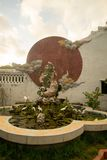 Decorazione in tempio in Hoi An Vietnam Fotografia Stock Libera da Diritti