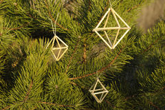 Decorazione tradizionale baltica e scandinava di Natale Fotografia Stock