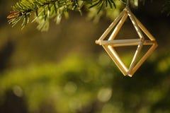 Decorazione tradizionale baltica e scandinava di Natale Fotografia Stock Libera da Diritti
