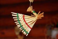 Decorazione tradizionale bielorussa dell'uccello Fotografia Stock Libera da Diritti