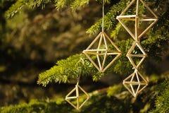 Decorazione tradizionale lettone di Natale al sole Fotografie Stock Libere da Diritti