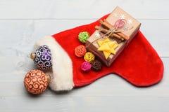 Decorazione variopinta del nuovo anno o di Natale Immagini Stock Libere da Diritti