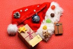 Decorazione variopinta del nuovo anno o di Natale Immagini Stock