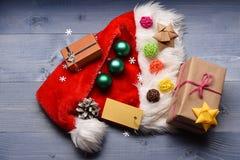 Decorazione variopinta del nuovo anno o di Natale Fotografia Stock