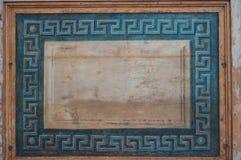 Decorazioni antiche alla sinagoga Immagini Stock