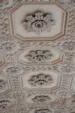 Decorazioni antiche alla sinagoga Fotografie Stock
