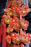Decorazioni cinesi Fotografie Stock
