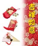 Decorazioni cinesi di nuovo anno Fotografie Stock