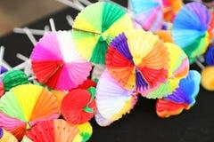 Decorazioni colorate priorità bassa per le bevande fotografie stock libere da diritti