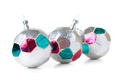 Decorazioni d'annata di Natale Fotografia Stock