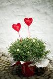 Decorazioni del cuore Fotografie Stock