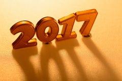 Decorazioni del nuovo anno Fotografie Stock Libere da Diritti