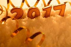 Decorazioni del nuovo anno Immagine Stock Libera da Diritti