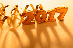 Decorazioni del nuovo anno Fotografie Stock