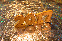 Decorazioni del nuovo anno Fotografia Stock