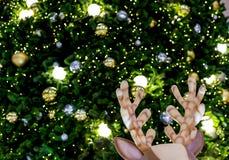 Decorazioni dell'albero di Natale Fotografia Stock