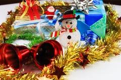 Decorazioni dell'albero di Natale. Fotografia Stock