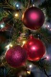 decorazioni dell'Natale-albero Fotografie Stock