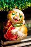 decorazioni dell'Natale-albero Fotografie Stock Libere da Diritti