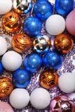 decorazioni dell'Natale-albero Fotografia Stock Libera da Diritti