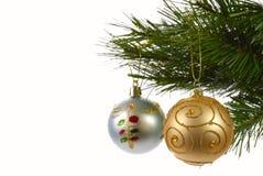 decorazioni dell'Natale-albero immagini stock