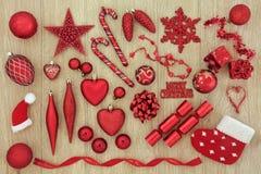 Decorazioni della bagattella dell'albero di Natale Immagine Stock Libera da Diritti