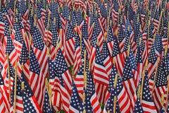 Decorazioni della bandiera - una festa americana Immagine Stock Libera da Diritti