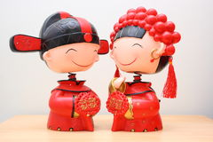 Decorazioni di cerimonia nuziale Fotografie Stock