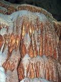 Decorazioni di cerjanska della caverna Fotografia Stock Libera da Diritti
