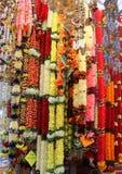 Decorazioni di Deepavali da vendere in poca India, Singapore fotografia stock libera da diritti